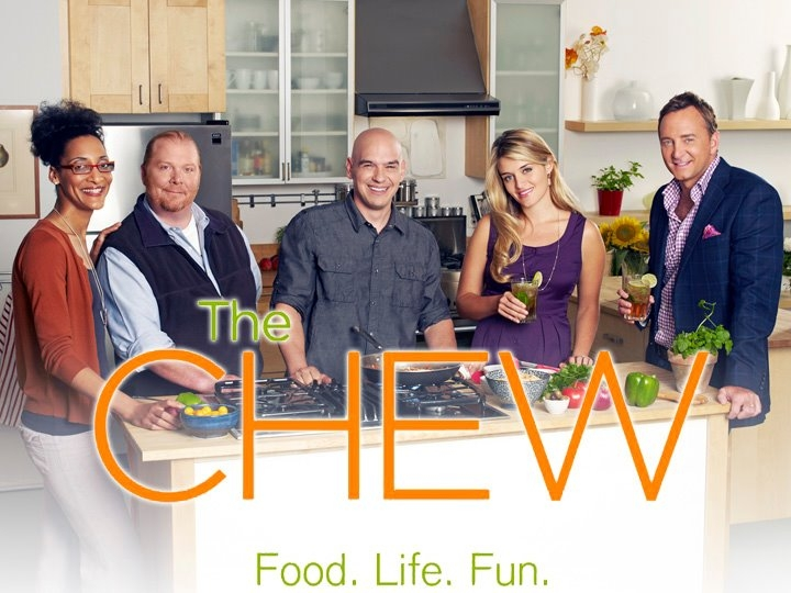 my day at abc s the chew and gordon elliott letia mitchell