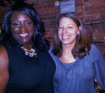 Letia Mitchell and Jill Rosen, Owner of Chiboust Restaurant