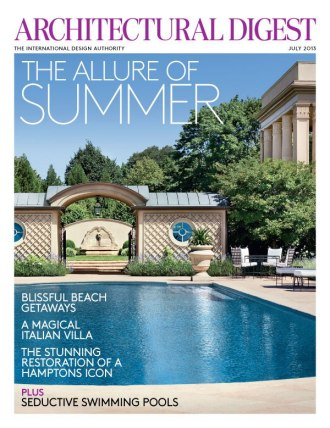 Architectural Digest July 2013 Issue