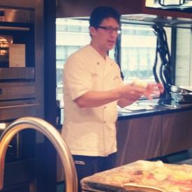 Chef Coleman explaining the details.