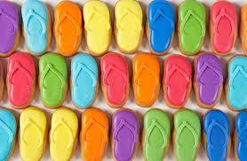 Eleni's Flip Flop Cookies