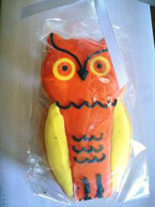 My Owl Sugar Cookie By Eleni's