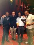 Raj (Ant), Hector, Dante and Sean....Red Carpet fun!