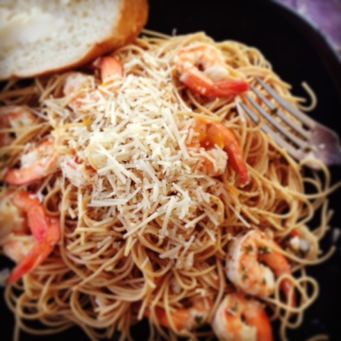 Shrimp Scampi by Letia Mitchell LifeStyle & Design LLC