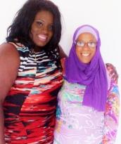 Letia Mitchell, LMSD & Designer umiyyah Rasheed