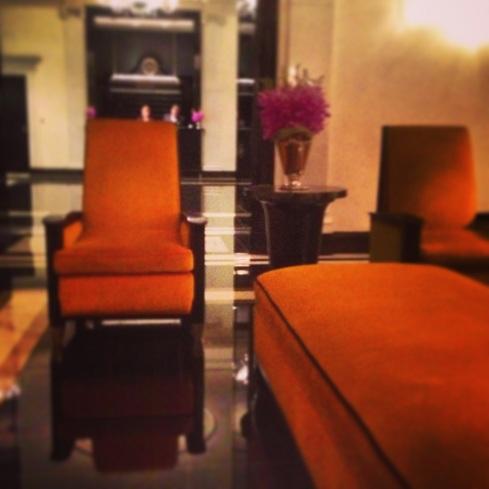 Carlyle Hotel Lobby, NYC
