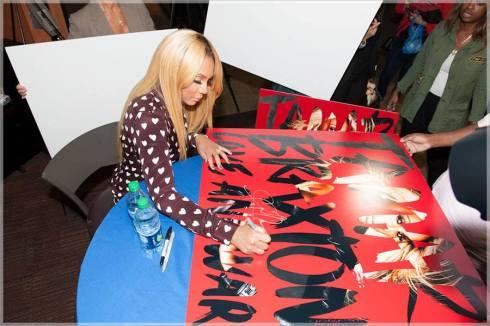 Tamar Braxton Signing