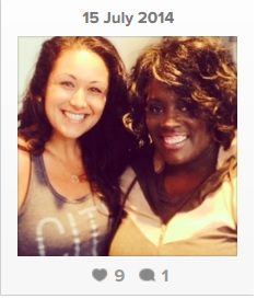 CEO & Founder Helaine Knapp and Letia Mitchell