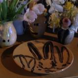 Spring...Bunny plates