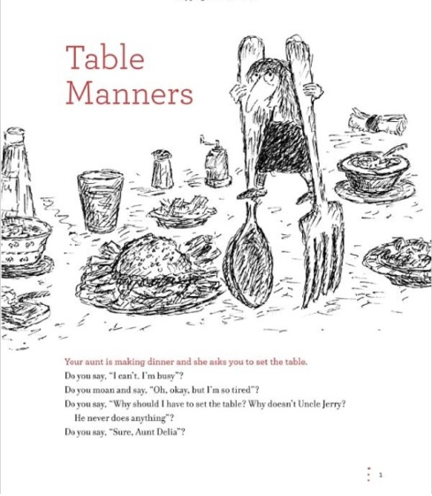 Table Manners Copyrighted Material (c)